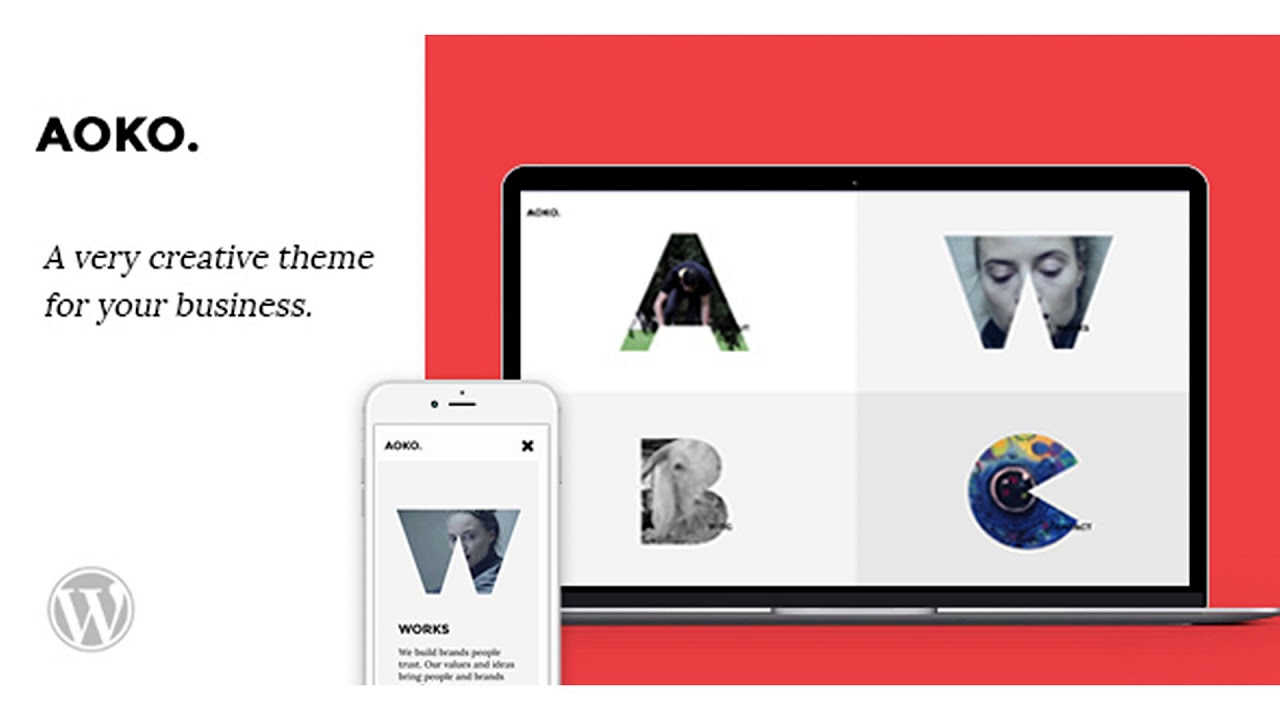 Aoko – Creative WordPress Theme | Themeforest Website Templates and Themes