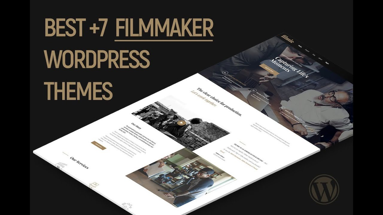 Best 7 Filmmaker And Production WordPress Themes 2019