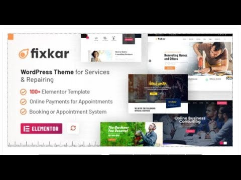 FixKar – A Services WordPress Theme (Elementor) with Online  | Themeforest Templates